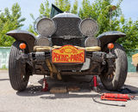 Réparation de Buick 25X 1929 ans Photo libre de droits