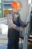 Réparation de climatisation images libres de droits