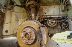 Réparation de disques de frein Photos libres de droits