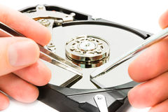 Réparation de données Photo libre de droits