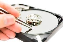 Réparation de données Images stock