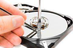 Réparation de données Photos libres de droits