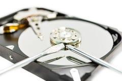 Réparation de données Photo stock