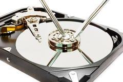 Réparation de données Image stock