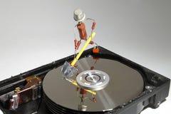 Réparation de HDD Photos stock