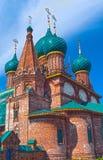 Réparation de l'église près de Yaroslavl Photos libres de droits