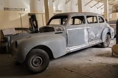 Réparation de la carrosserie ZIS 110 Photographie stock libre de droits
