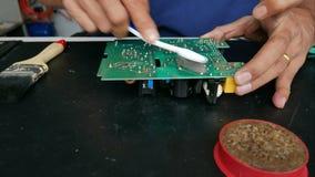 Réparation de la carte électronique clips vidéos