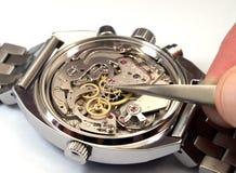 Réparation de la montre Photographie stock