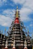 Réparation de la pagoda antique Images libres de droits