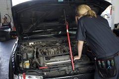 Réparation de mécanicien automatique Image stock