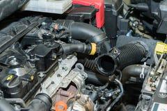Réparation de moteur de voiture photo libre de droits
