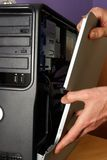 Réparation de PC Photographie stock