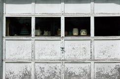 Réparation de porte de garage Image libre de droits