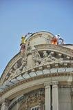 Réparation de toit Photo stock