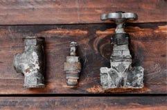 Réparation de tuyauterie images stock