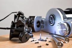 Réparation de vieil appareil-photo Image stock