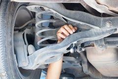 Réparation de voiture Images libres de droits
