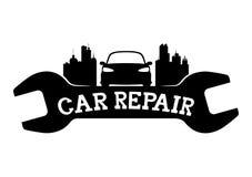 Réparation de voiture Photo stock