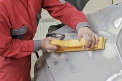 Réparation de voiture Image libre de droits