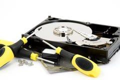 Réparation du matériel photo libre de droits