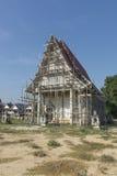 Réparation du temple en Thaïlande Photos libres de droits