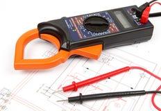Réparation et électronique diagnostique Photos stock