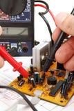 Réparation et électronique diagnostique Images stock