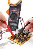 Réparation et électronique diagnostique Photos libres de droits