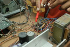 Réparation et diagnostic Photo stock