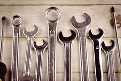 Réparation ou outils de bâtiment Photographie stock
