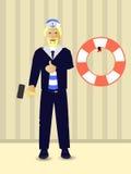 réparations Accrochez l'anneau de vie Thème marin illustration libre de droits