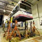 Réparations d'autobus Image stock