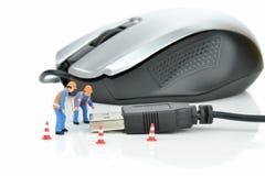 Réparations de matériel d'ordinateur Photos stock
