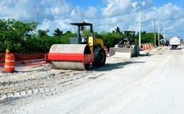 Réparations de route photo libre de droits