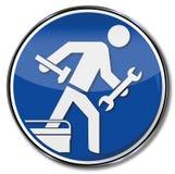 Réparations, métiers et service client illustration libre de droits