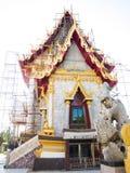 Réparez et rénovez le temple, Nakhon Ratchasima, Thaïlande photographie stock