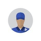 Réparez l'avatar d'homme Image stock
