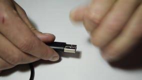 Réparez l'usb de câble banque de vidéos
