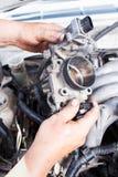 Réparez la voiture Images stock