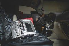 Réparez le câblage de la voiture images stock