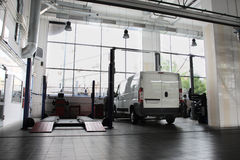 Réparez le garage Images libres de droits