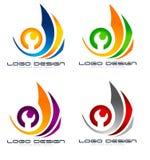 Réparez le logo Photographie stock