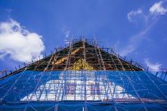 Réparez le wat Rakung de temple Photographie stock