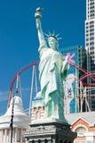 Réplica da estátua da liberdade em York York-novo novo no Las Fotografia de Stock