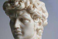 Réplica da estátua de David Imagem de Stock