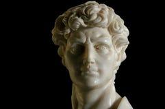 Réplica de David no mármore imagens de stock royalty free