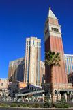 Réplica de St Mark Campanile, estância Venetian e casino, Imagens de Stock