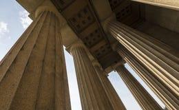 Réplica do Partenon fotografia de stock royalty free