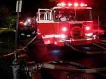 Réponse à l'incendie Images stock
